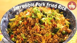 INCREDIBLE Pork Fried Rice 🐷
