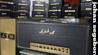Marshall 1967 JTM Black Flag Plexi - Demo and Circuit Survey