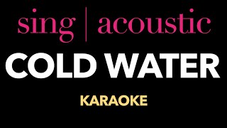 Justin Bieber ft. Major Lazer - Cold Water (Karaoke/ Instrumental)