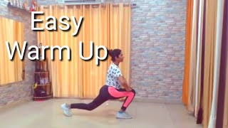Easy Warm Up Routine For Beginners |Zumba Warm Up |Episode 1|Pooja Zumba