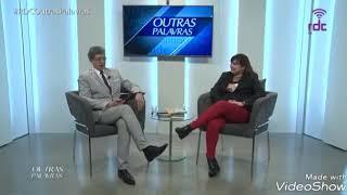 Angélica Rizzi foi uma das entrevistadas do Programa 'Outras Palavras' da RDC TV