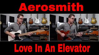 """Aerosmith """"Love In An Elevator"""" quick tutorial video by Shawn Tubbs"""