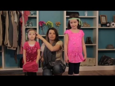How to Dress Up a Toddler for a Disco Party : Child & Baby Clothing
