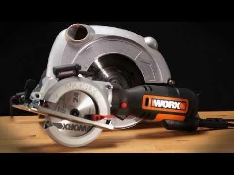 Sierra circular Worx WorxSaw XL 710W WX427
