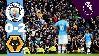 HIGHLIGHTS | Man City 0-2 Wolves | Traore (2)