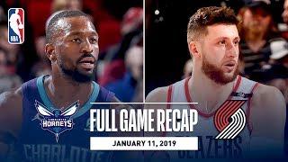 Full Game Recap: Hornets vs Trail Blazers | Block Party At The Moda Center