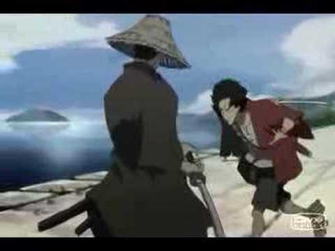 samurai champloo papa roach video