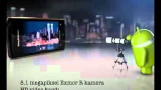 Sony Ericsson Xperia™ ray Turkcell TV Reklamı!