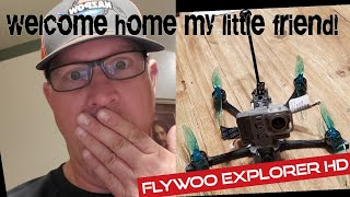 Something special finally showed up tonight! dji fpv and the flywoo Explorer with caddx vista.