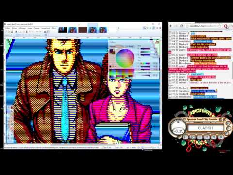 Amstrad CPC Graphics Live – Ep07