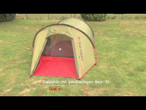 High Peak Zelt Kite Aufbauvideo / Setup video