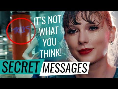 Taylor Swift- Delicate Music Video | HIDDEN MEANINGS