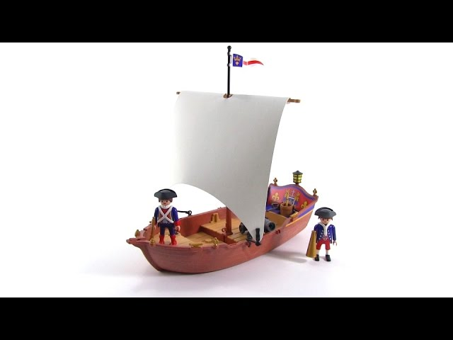 Playmobil Pirates - Soldier's Boat review! set 5948