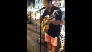 Mc Mong- I love you, Oh Thank You Cover @Hongdae