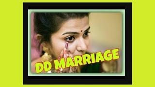DD Marriage (vijay tv anchor divya dharshini ) wedding video