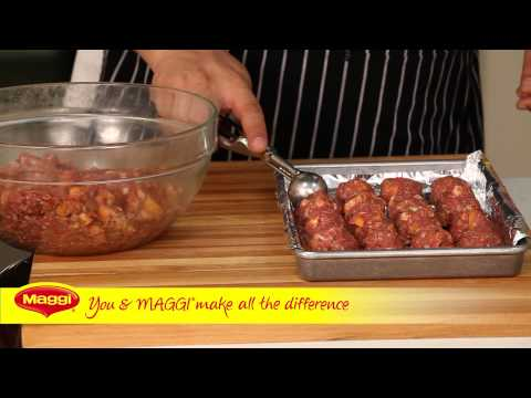 Spicy Meatballs in Pomegranate BBQ Sauce