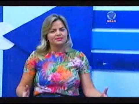 Sérgio Pires entrevista a vereadora Ada Dantas Boabaid na SIC TV  - Gente de Opinião