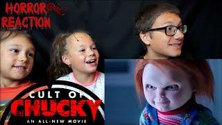 CULT OF CHUCKY Trailer #1 Reaction!!!