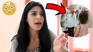 MOTHER ABANDONS LITTLE GIRL INSIDE STORE (confronting her on camera)