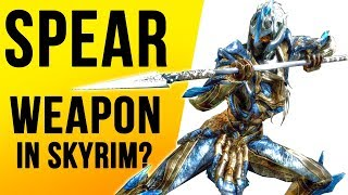 Skyrim Top 10 SECRETS That Were NEVER Added - SPEAR WEAPONS!