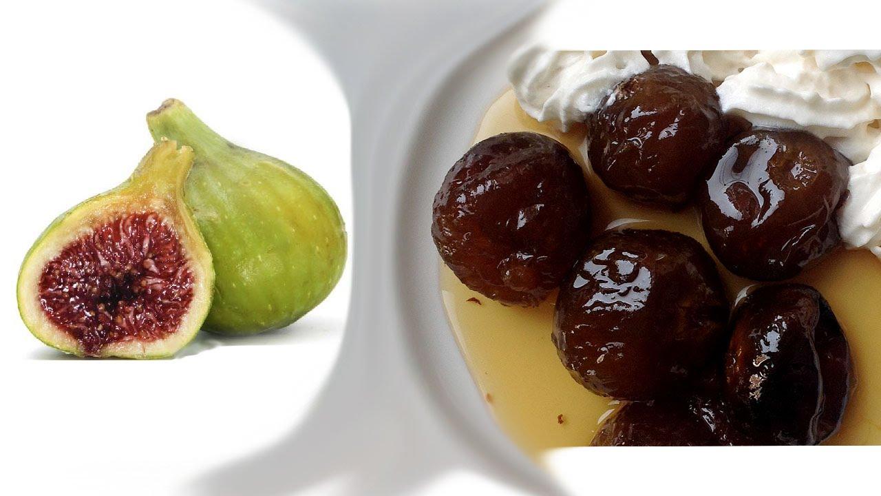 Cocina y Dulces. Rico Dulce de Higo