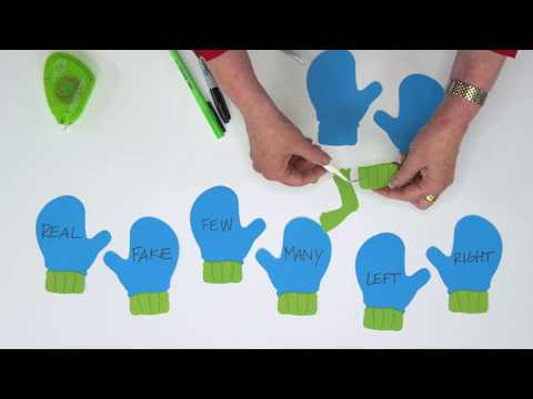 Pair Up These Mittens In A Fun Antonym Game!