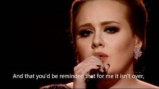 Someone Like You (Live from the BRITs) - Adele [Download FLAC,MP3]