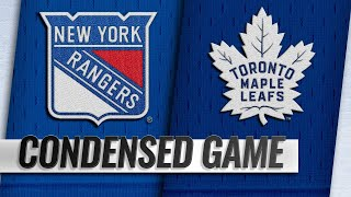 03/23/19 Condensed Game: Rangers @ Maple Leafs