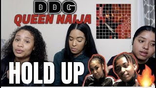 DDG   Hold Up (Audio) Ft Queen Naija REACTIONREVIEW