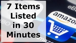 Listing 7 items to Drop Ship on Amazon in 30 minutes and Getting to Know the Platform