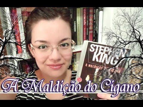 Livro - A Maldição do Cigano (Stephen King)