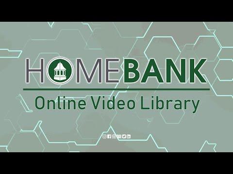 HOMEBANK Mobile App Reorder, Rename, Hide Accounts