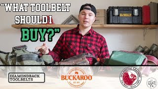 What Tool Belt Should You Buy?! | Pros And Cons: Occidental, Buckaroo & Diamondback