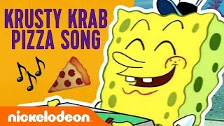 The Krusty Krab Pizza Song! 🍕 Ft. SpongeBob SquarePants | Nick