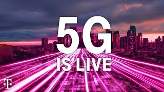 T-Mobile Nationwide 5G Coverage: It's On!
