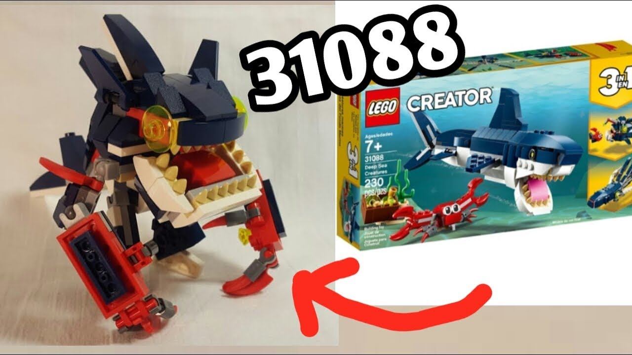 Sea Monster-Alternative model 31088 (LEGO MOC)!