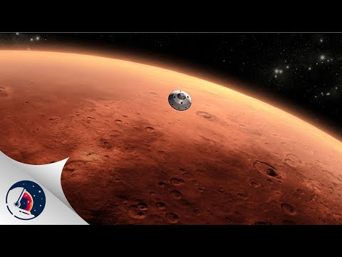 Flying in a BFR to Mars\