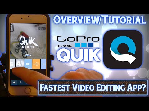 "GoPro ""Quik"" App Overview/Tutorial – iPhone Video Editor"