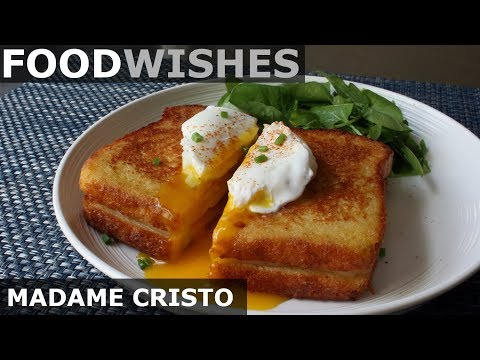 Madame Cristo – Grilled Ham & Cheese – Food Wishes