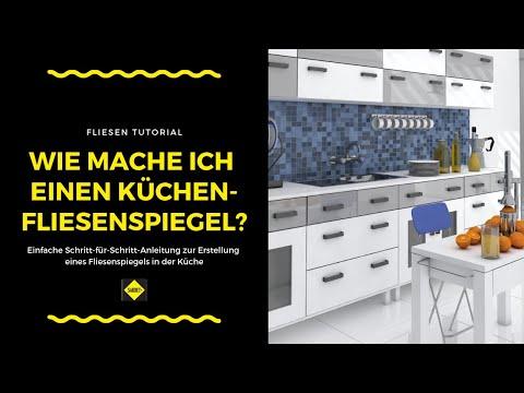 Fliesen als Fliesenspiegel in der Küche verlegen und verfugen - SAKRET Heimwerker TV