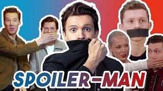TOM HOLLAND CANT STOP HIS SPOILERS   AVENGERS: INFINITY WAR 2018