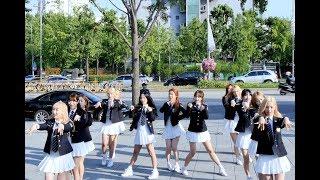 [4k] 170613 우주소녀(WJSN,Cosmic Girls) 전체 - HAPPY @게릴라콘서트(잠실야구장 앞)/직캠 By 쵸리(Chori)