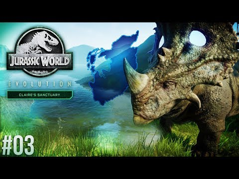 MOVING TO SANCTUARY ISLAND! | Claire's Sanctuary Part 3 (Jurassic World: Evolution)