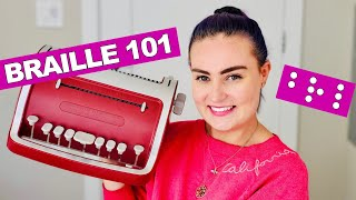 How To Read & Write Braille + The History of Braille!