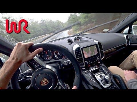 Porsche  Cayenne  Паркетник класса J - тест-драйв 3