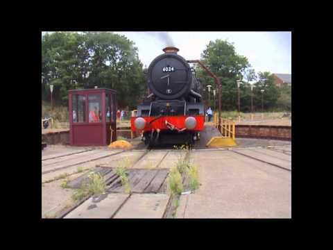 GWR 6024 celebrates her 75th anniversary with the members of…