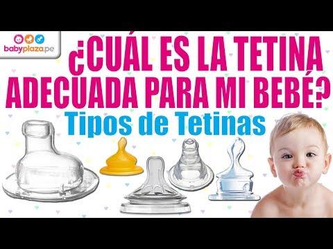¿Cuál es la tetina adecuada para mi bebé? | Tipos de Tetinas | BabyPlaza
