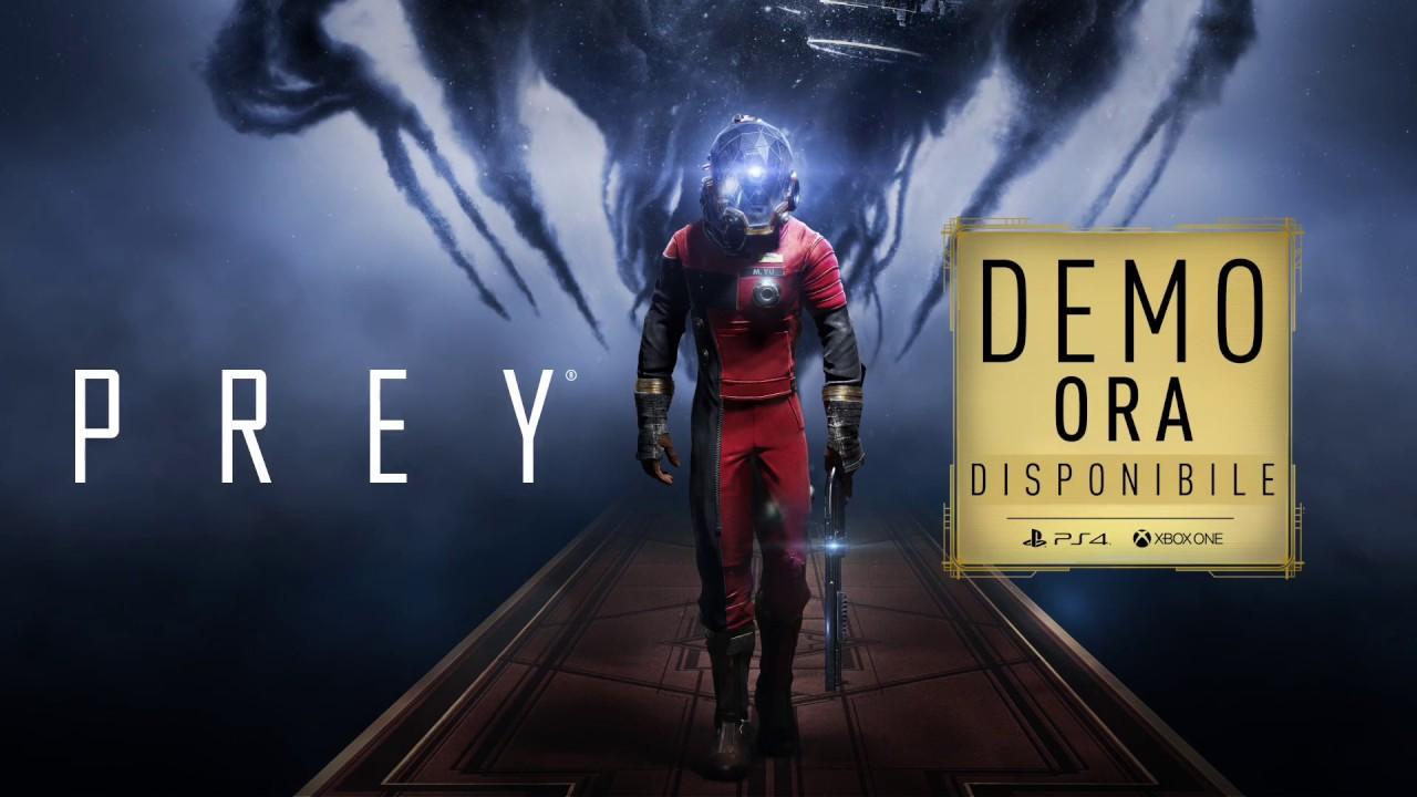 Prey - La demo di Prey: Prima ora è disponibile