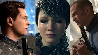 Full Suicide Montage: Detroit Become Human