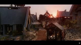Skyrim Se Mods 2020 - Winter in Whiterun - Photorealistc Next Gen graphics 4K